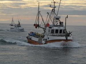 Norwegen-Fischtrawler