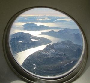 Norwegen-Landeanfluig