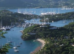 Yacht charters Antigua