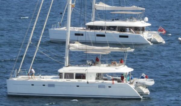 Yates de lujo de alquiler - catamaranes Mediterraneo - Caribe