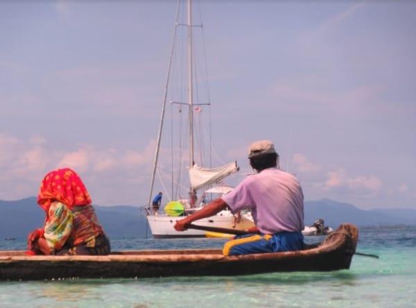 San Blas Yacht charters Kuna Boat