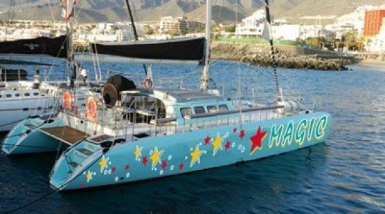 Katamaran für Ausflüge Palma de Mallorca - Freebird