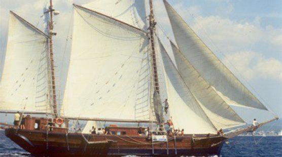 Klassischer Segelschiff -  Zweimaster