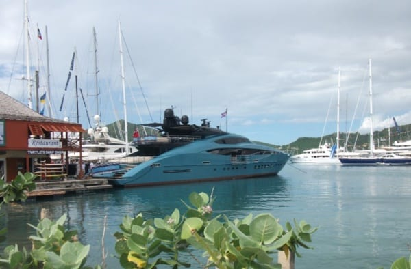 Chárter yates de lujo - Caribe