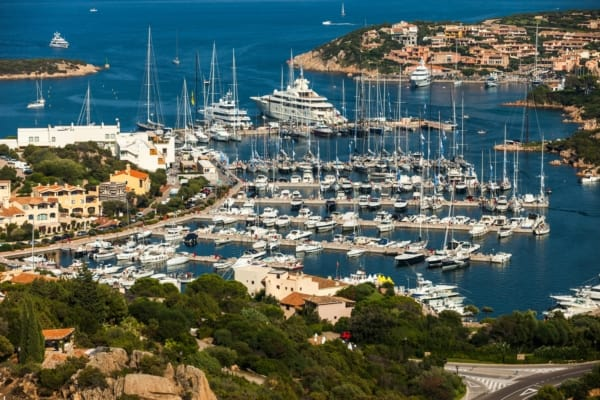 Luxury yacht charters Sardinia