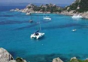 Olbia Catamaran sailing