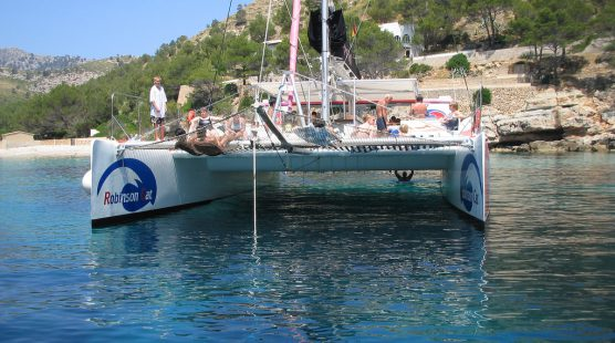 Excursion catamaran Puerto Pollensa