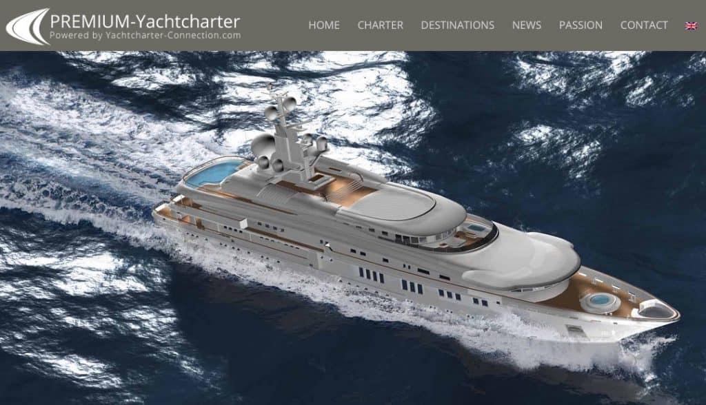 New Website for Premium Luxury Charters