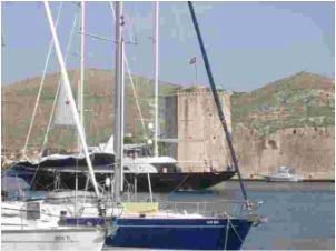 Croatia-Trogir_port