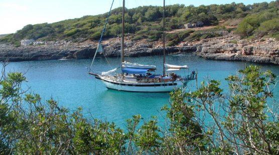 Motorsailer Bay of Palma de Mallorca