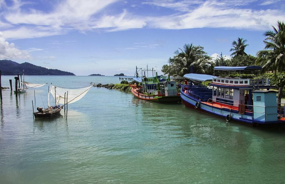 Navegar en el Golfo de Tailandia