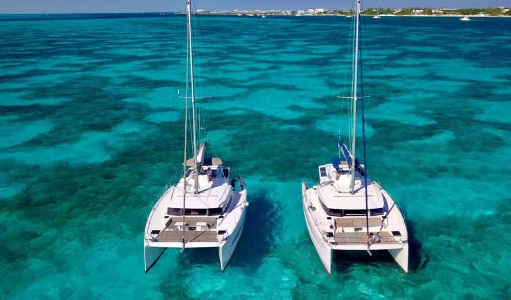 Mexico Sailing Catamarans Isla Mujeres