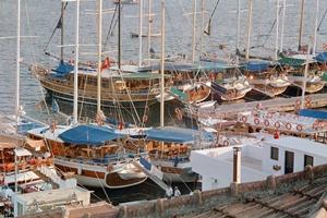 Yacht charters Turkey - Marmaris port