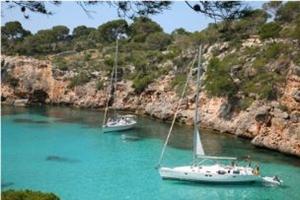 Segeln in Spanien - Bucht auf den Balearen - Mallorca