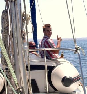 Sailing North Sea