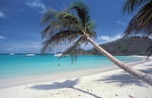 Karibik - Grenadinen-Mayreau-Salt Whistle Bay