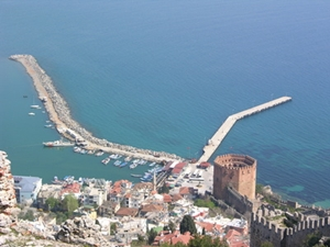 Türkei_Alanya_Hafen