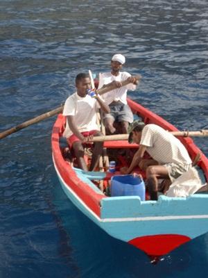 pescadores en cabo verde