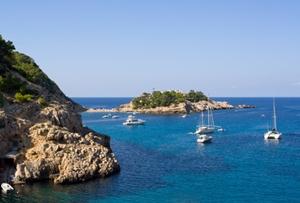 Segelrevier_Balearen_Ibiza_Bucht von San Miguel