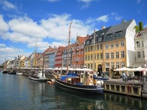 Dänemark - Hafen von Kopenhagen